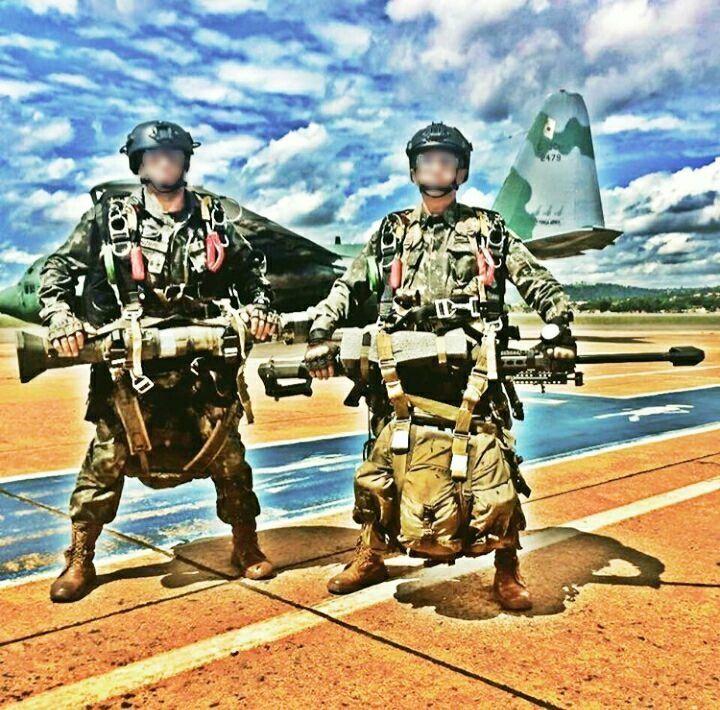Precursores Paraquedistas Do Exercito Brasileiro Forcas Especiais Exercito Brasileiro Forcas Armadas