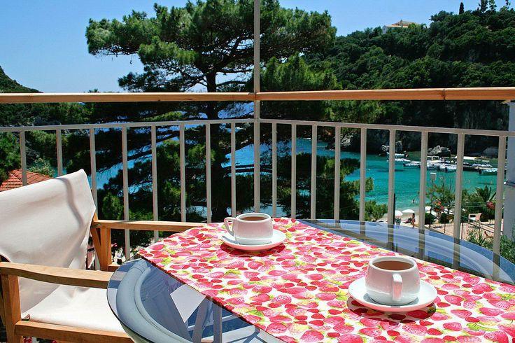 Corfu Hotels :: Hotel Zefiros in Paleokastritsa Corfu