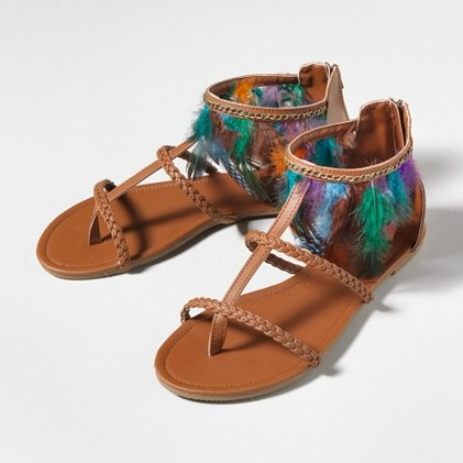 Am getting these - Feather Sandals from Claires: Feathers Sandals, Fashion, Indian Summer, Dreams Closet, Featheri Sandals, Fantastic Feathers, Shoes 3, Teen Shoes, Clothing Shoes Hair