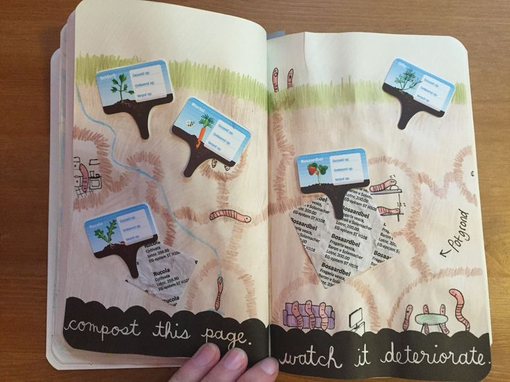 Wreck it journal: compost this page an watch it deteriorate