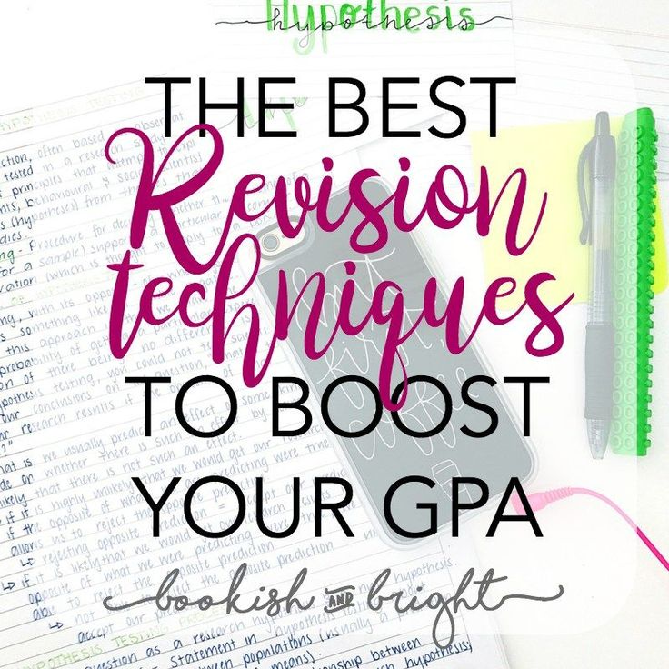 revision techniques Get revision tips and techniques from our experts and say goodbye to stress during exam season here you'll find the best ways to help your pupils revise for their.