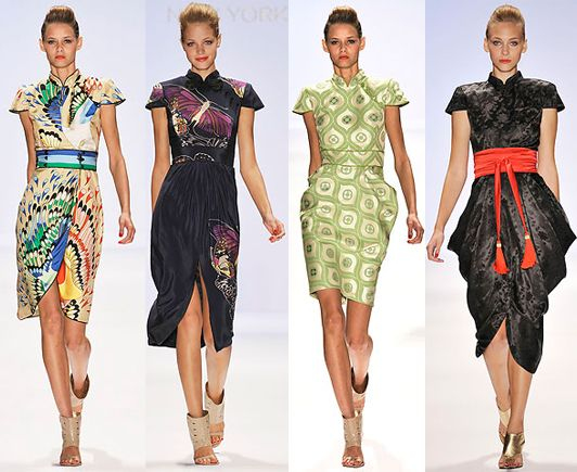 Inspirations for the Modern Cheongsam