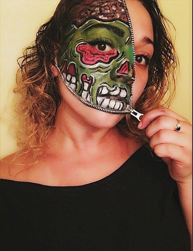 The 25+ best Zipper face ideas on Pinterest   Zipper face makeup ...