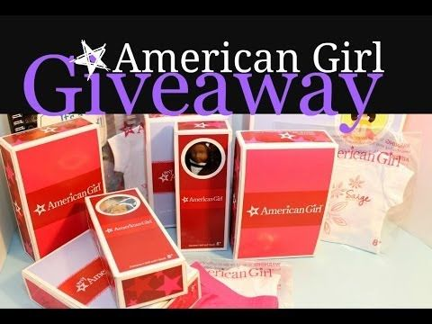 [OPEN] 4000 Subscriber Giveaway all AMERICAN GIRL prizes Ends March 31 2...
