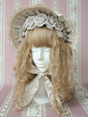 Victorian Maiden bonnet