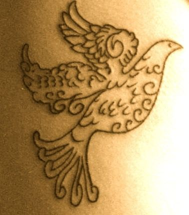 My dove tattoo :) designed by muah! :) random | tattoos picture dove tattoo designs