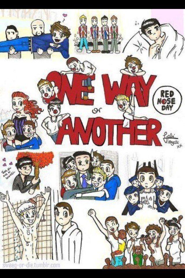 one direction cartoon | TabsOn1D : Lovely One Direction One Way or Another cartoon, so cute ...