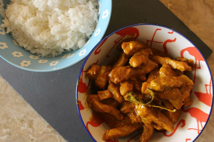 Yellow curry tailandese