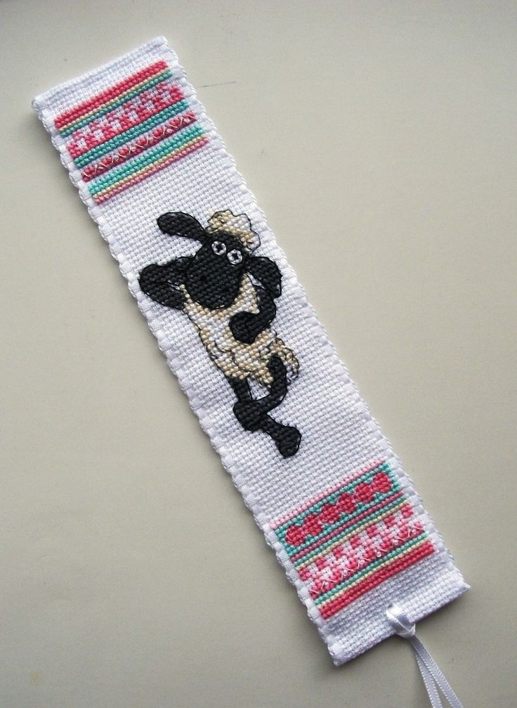 Anchor Shaun the Sheep bookmark 3.
