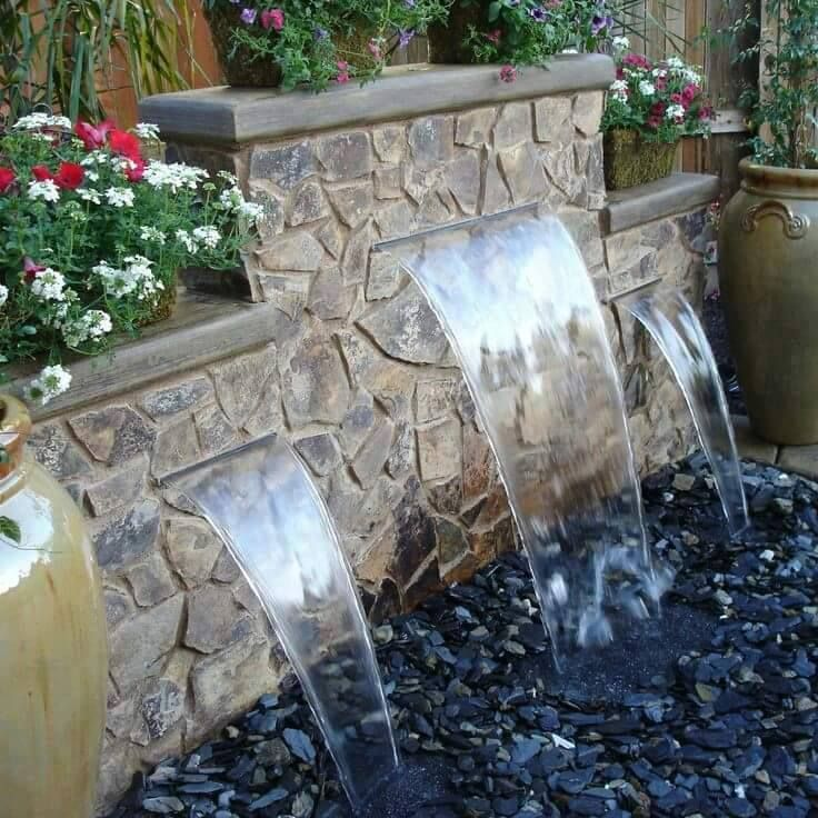 Small Pond Waterfall Ideas Small Garden Waterfalls How To Build