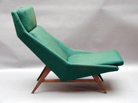Folke Ohlsson; Lounge Chair for Dux, 1960s. #LoungeChair