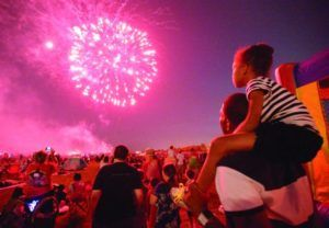Below are links to the many local fireworks shows for you and your family to enjoy this holiday weekend. We hope to see you guys there. Have fun and be safe!