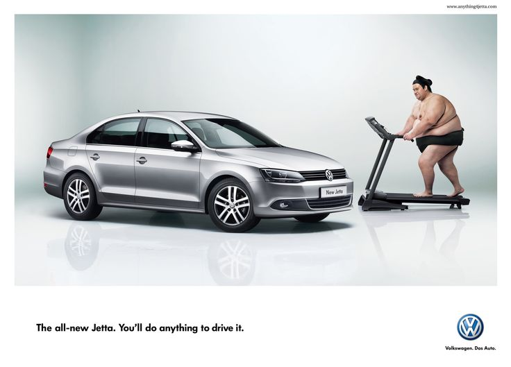"""VW - """"you'll do anything to drive it"""""""