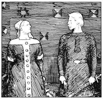 Erik Werenskiold illustrated the norse king sagas (Snorre) - Snorres kongesagaer - P_08.09.2012 - http://media.snl.no/system/images/w/werenskiolderik_snorre.jpg