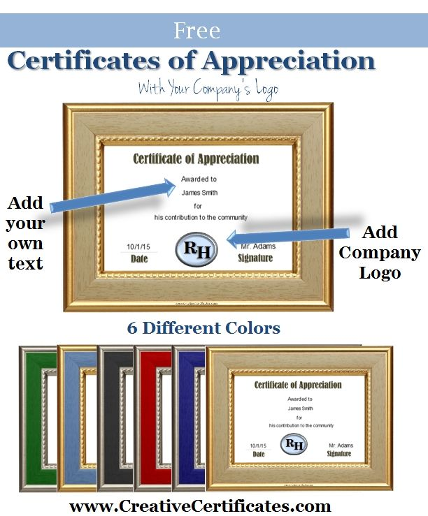 8 best Mary Kay Certificates images on Pinterest Award - appreciation certificates wording