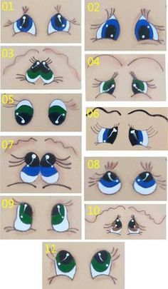 Eyes template