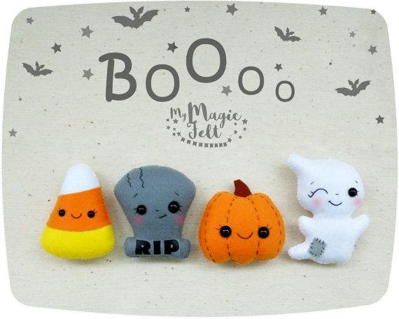 Decorazioni di Halloween insieme dell'ornamento di di MyMagicFelt
