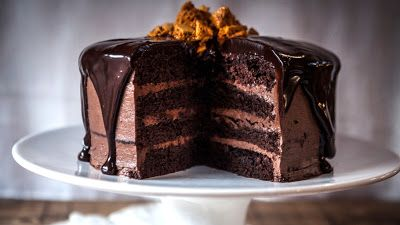 Review's Resort: Saturday Snippet: Chocolate Cake