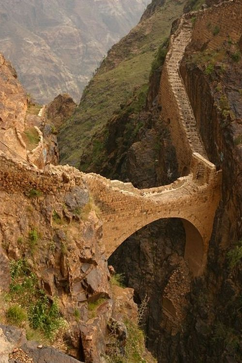 Shahara Bridge, Yemen