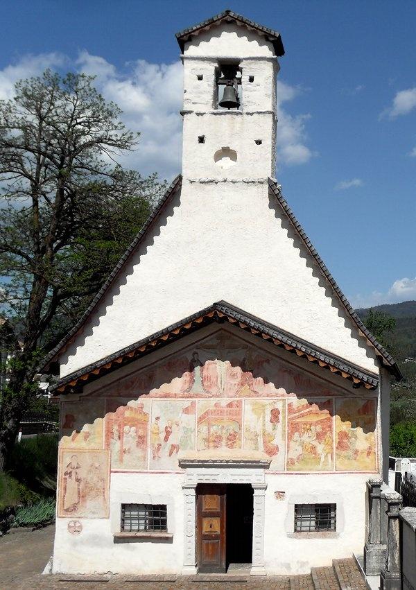 Romeno- Val di Non- chiesa di Sant'Antonio - XV^ sec.