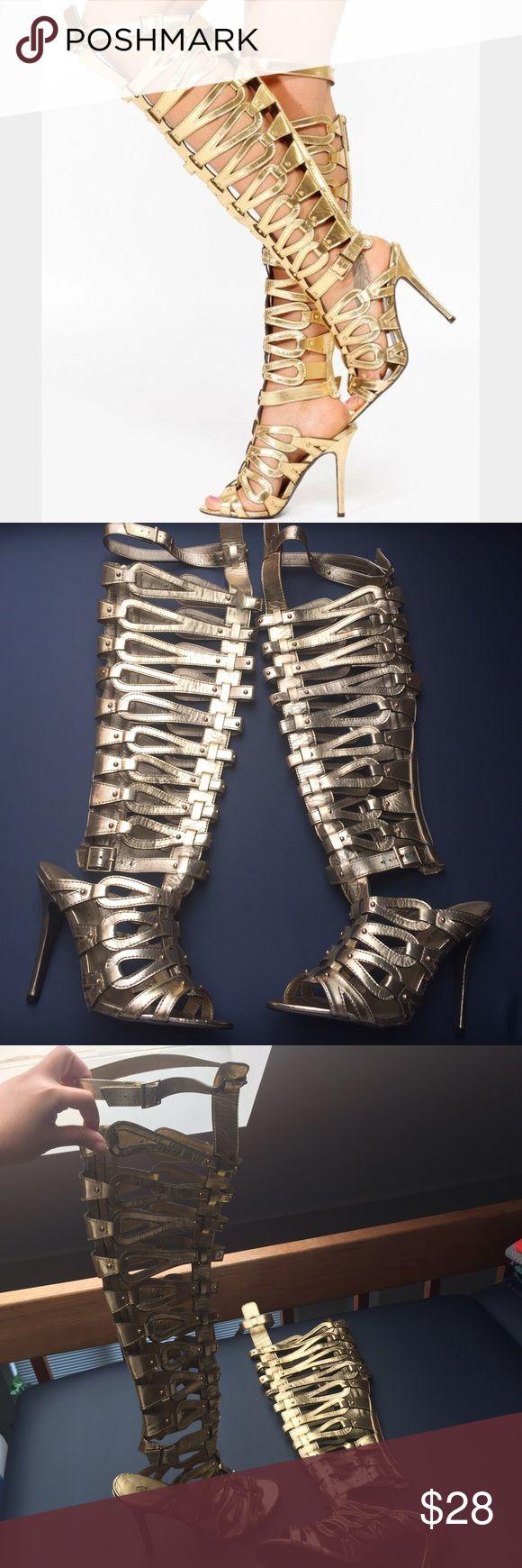 The 25+ best Thigh high gladiator heels ideas on Pinterest ...