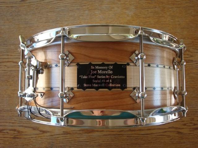 Joe Morello Tribute Craviotto Hybrid