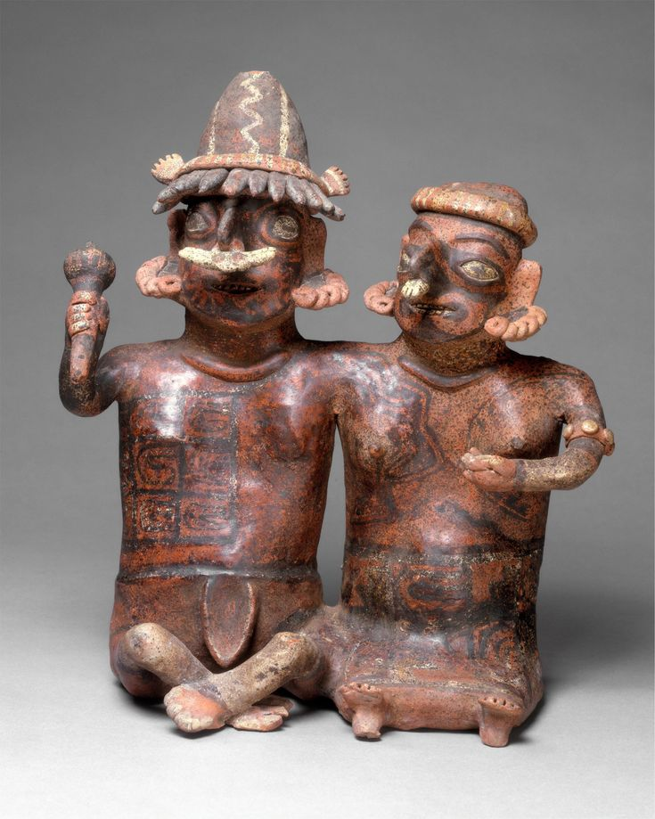 Ancestor Pair Published 1st century BCE–3rd century CE Topics North and Central America, Nayarit, Mexico, 1st century BCE–3rd century CE, Ceramic, Metropolitan Museum of Art, Figures, Ixtlan del Río, Sculpture, Ceramics