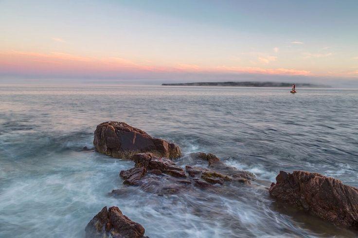 Smooth Sunset ~ Acadia National Park, Maine