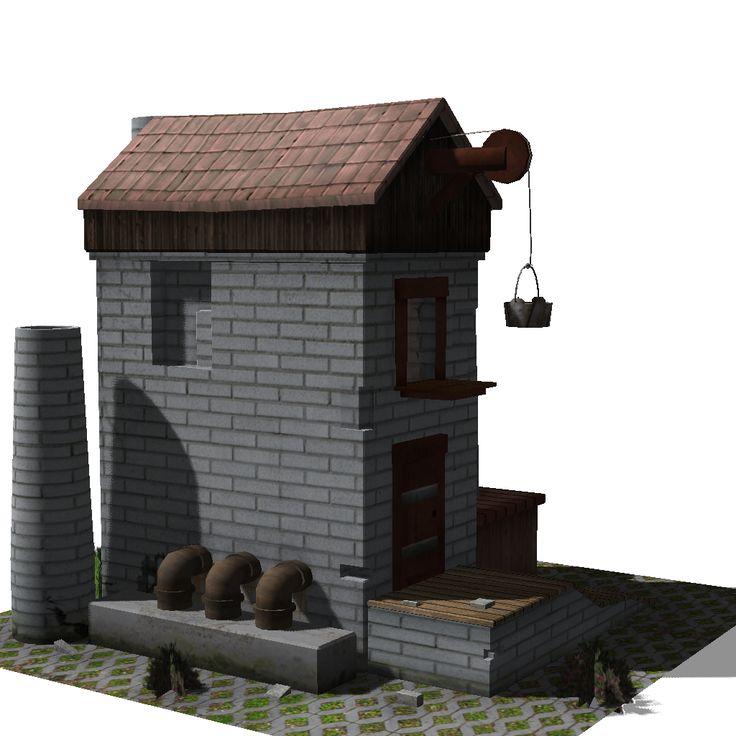 Modelado y texturizado medieval-2