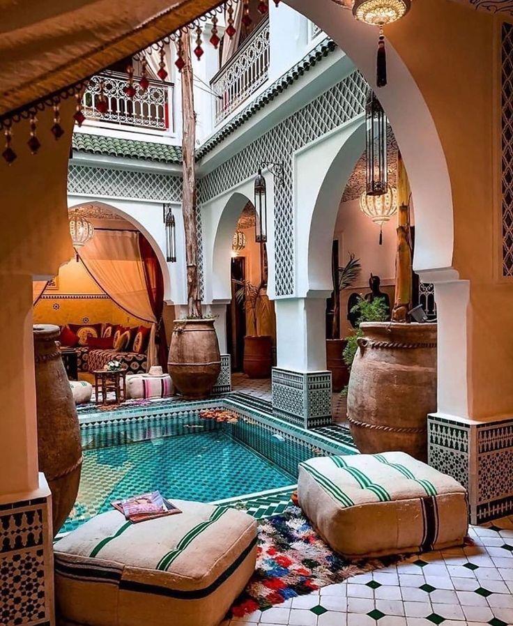 дома в марокканском стиле фото