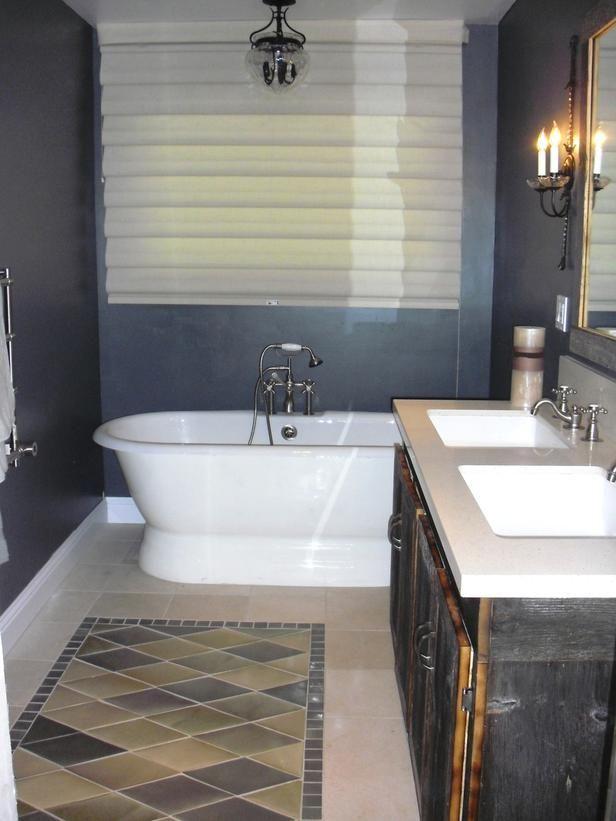 16 best ceramic tile rugs images on pinterest flooring - Ceramic tile flooring ideas bathroom ...