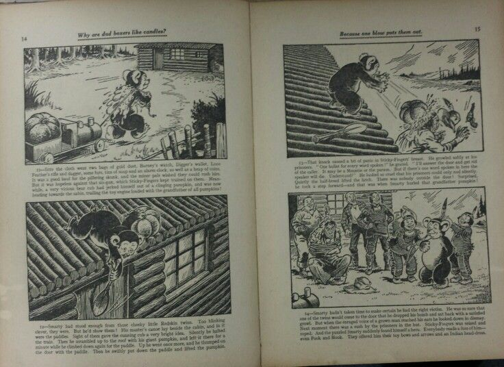 Dandy Book 1953 - Pg 14 and 15