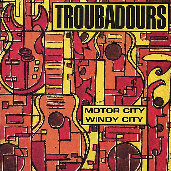Troubadours - Motor City/Windy City, Silver