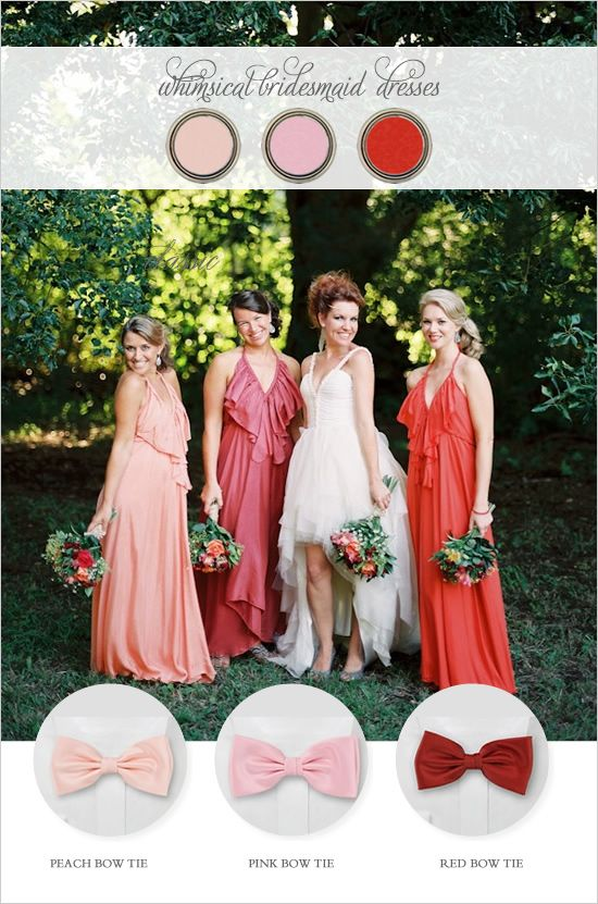 whimsical bridesmaid dresses would be right up davina's alley when the time comes for her to walk the aisle.