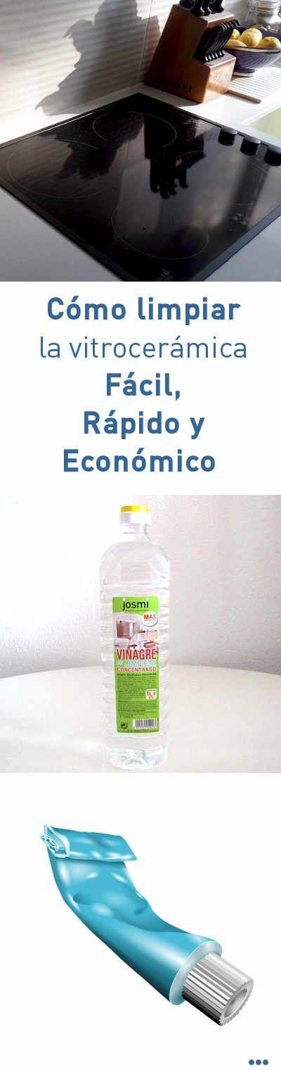 Cómo limpiar la vitrocerámica Fácil, Rápido y Económico