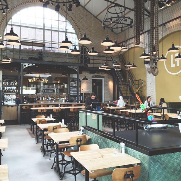 Restaurant De Lichtfabriek Gouda Industrial Cool