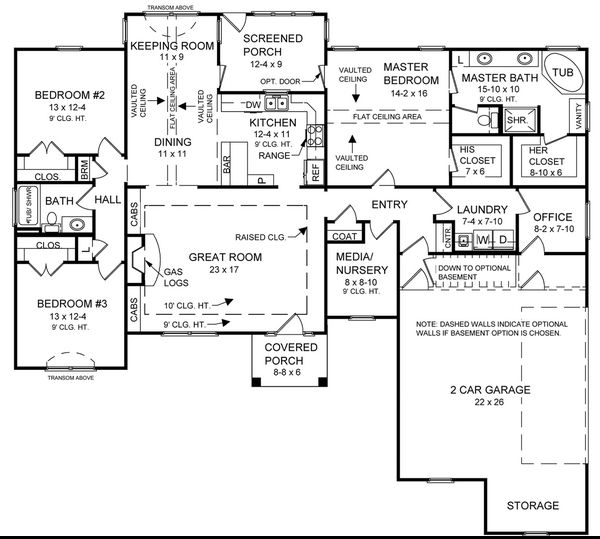 147 best images about floor plans on pinterest craftsman for 2000 sq ft house plans with basement