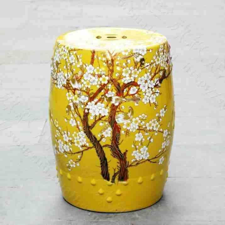 Cheap Ceramic Lantern, Buy Quality Stool Seat Directly From China Stool  Ceramic Suppliers: China Plum Blossom Painting Ceramic Drum Porcelain Garden  Stool ...