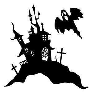 107 Best Halloween Silhouette Images On Pinterest