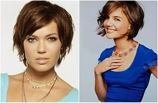more stylesHaircuts, Mandy Moore, Layered Hairstyles, Shorts Hair, Hair Cuts, Cute Hair, Hair Style, Katy Holmes, Pixie Cut