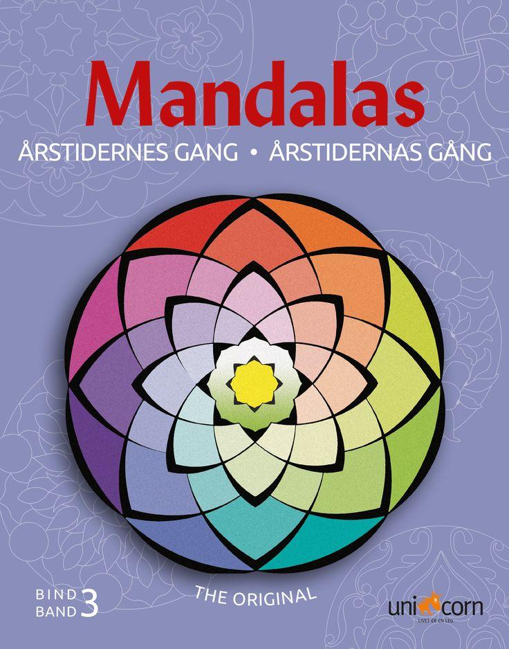 Mandalas malebog  Årstidernes Gang Bind 3