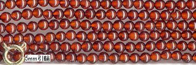 SmartyHands.com: Amber (cherry) round 2mm /40cm