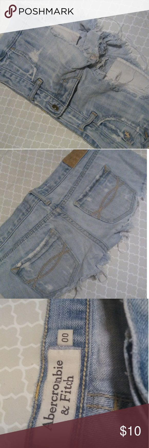 Abercrombie and Fitch Booty Shorts Distressed shorts Abercrombie & Fitch Shorts Jean Shorts
