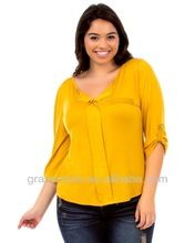 OEM Plus Size Soft Bamboo Fiber Sexy Tshirt with Lace  Best Seller follow this link http://shopingayo.space