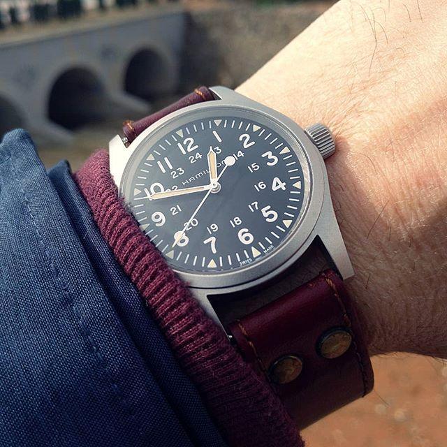 Hamilton Khaki Field Mechanical Reissue Military Watches Hamilton Khaki Field Watches For Men
