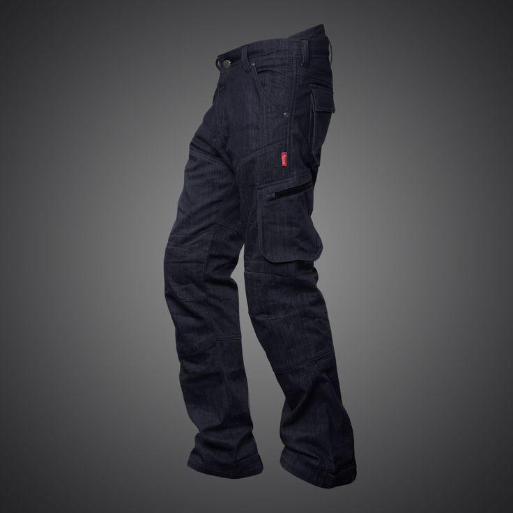 4SR biker Cargo Iron Grey jeans
