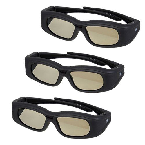3-PACK Super Universal 3D Active Shutter Glasses IR & Bluetooth Rechargeable – Black | Your #1 Source for Televisions, Audio & Video and Hom...