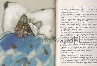 Janusz Grabianski /グラビアンスキー 『Der Fuchsrote Fleck und die Hafenbande』 - 旅する本屋 古書玉椿のショッピングサイト 北欧&東欧の手芸書・絵本・アートブック・雑貨