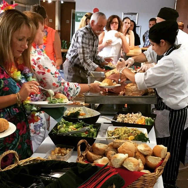 Come and get it. #buffet #salads #roasts #perthcatering
