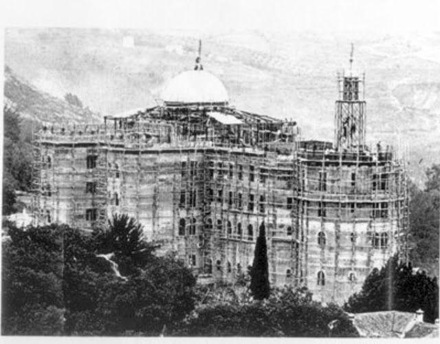 Construcción del Hotel Alhambra Palace (1910)